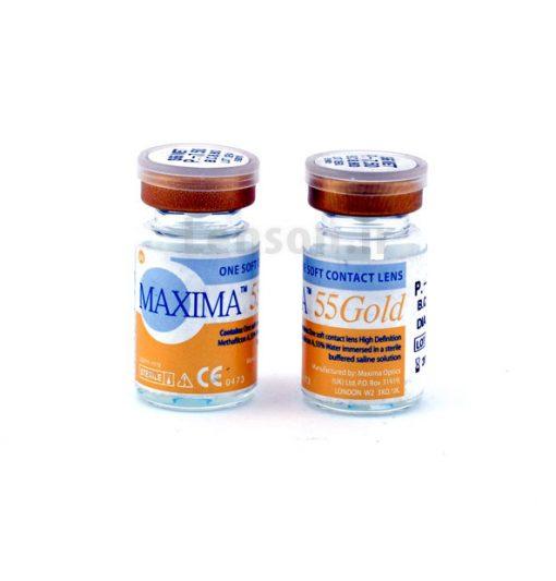 خرید لنز طبی سالانه ماکسیما گلد